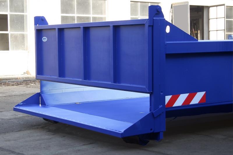typ: ABL-550HDX5420-11.1DS,  kód: 2347-4542-199-9963, kontejner s děleným zadním čelem, vhodné pro zemědělství, chov koní aj.