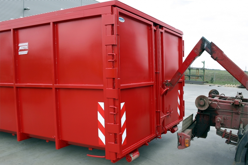 typ: ABL-415PED1000-19.21S,  kód: 4222-5845-282-8270, kontejner s pomocným natahovacím uchem na vratech, tj. kontejner je vybaven dvěma natahovacími uchy, jedno je standardní a druhé pomocné