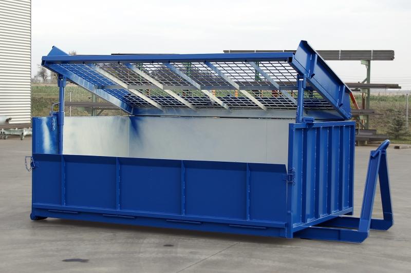 typ: ABL-400PED1000-9.01,  kód: xxxx-1014-302-0298, kontejnerové síto pro třídění inertního odpadu, zeminy, sutí, vhodné pro deponie