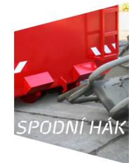 Výroba kontejnerů SPODNÍ HÁK