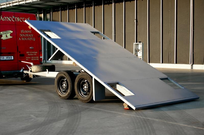 typ: Přívěsný vozík plošinový sklopný,  kód: 3038-5860-283-8306