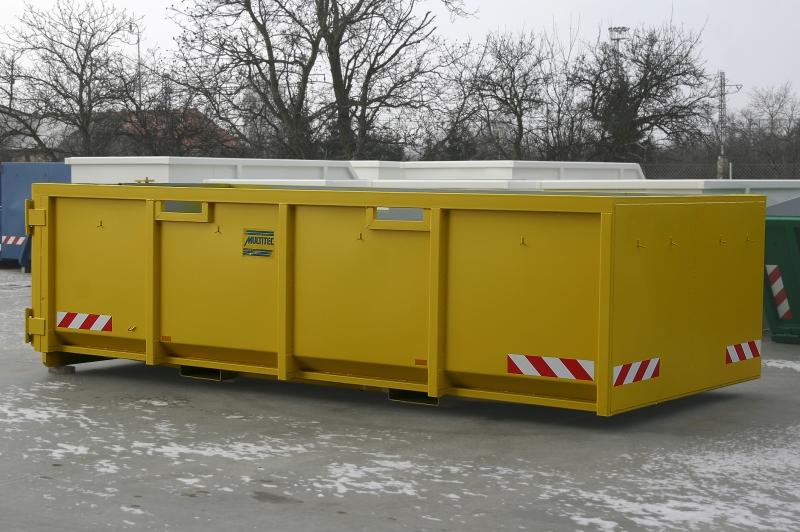 typ: ABL-500PED1250-14.20S,  kód: 2412-5626-256-5682, kontejner vybavený otvory v bočnicích pro manipulaci vysokozdvižným vozíkem z boku a výklopným dnem