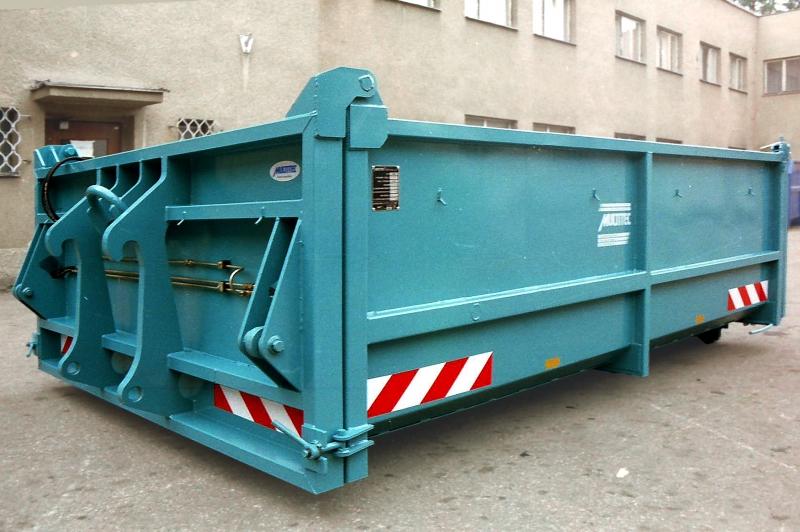 typ: ABL-346PED1730-7.11S,  kód: 2152-2662-scan-10279, kontejner se specificky vybaveným čelem pro přípojení manipulátoru